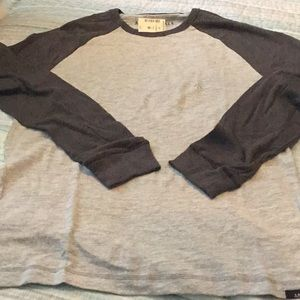 Aeropostale long sleeve baseball jersey shirt Lg